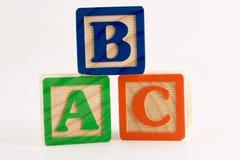 Pila del ABC Imagenes de archivo