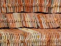 Pila del azulejo Fotografía de archivo libre de regalías