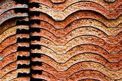 Pila del azulejo de azotea Imagenes de archivo