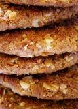 Pila del biscotto Immagini Stock