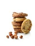 Pila del biscotto Immagine Stock