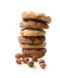 Pila del biscotto Fotografia Stock