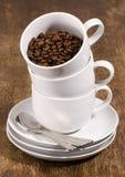 Pila del caffè Fotografia Stock Libera da Diritti