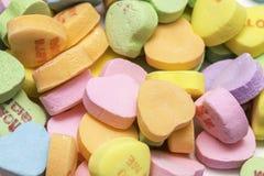 Pila del caramelo de los amores imagenes de archivo