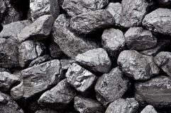 Pila del carbone Fotografia Stock