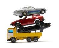 Pila del coche imagen de archivo libre de regalías
