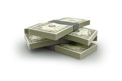 Pila del dinero ilustración del vector