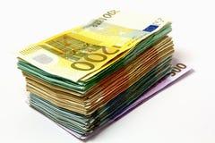 Pila del dinero Fotos de archivo