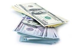 Pila del dinero foto de archivo libre de regalías