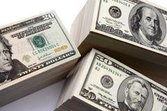 Pila del dinero imagen de archivo libre de regalías