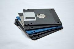 Pila del disquete imagen de archivo