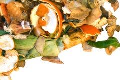 Pila del estiércol vegetal Foto de archivo libre de regalías
