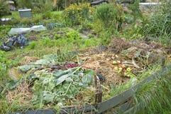 Pila del estiércol vegetal Imagen de archivo libre de regalías