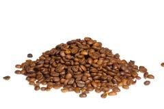 Pila del grano de café Imagen de archivo libre de regalías