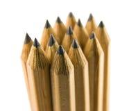 Pila del lápiz Imagen de archivo libre de regalías