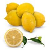 Pila del limón Foto de archivo libre de regalías