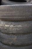 Pila del neumático imagen de archivo