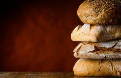 Pila del pan Fotografía de archivo