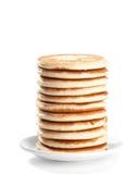 Pila del pancake Fotografia Stock