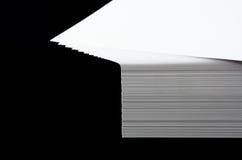 Pila del papel A4 Foto de archivo libre de regalías