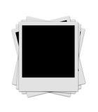 Pila del Polaroid Fotografia Stock Libera da Diritti