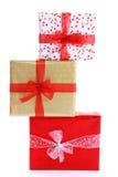 Pila del regalo imagen de archivo libre de regalías