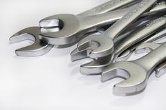 Pila del sistema de herramientas de la mano Imágenes de archivo libres de regalías