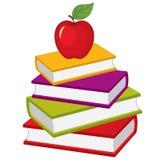 Pila del vector de libros Pila del vector de libros stock de ilustración