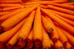 Pila della carota Fotografia Stock