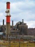 Pila della centrale elettrica Immagini Stock Libere da Diritti