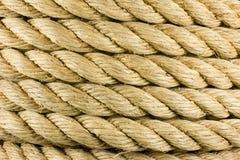 Pila della corda Fotografie Stock