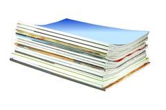 Pila della rivista immagini stock libere da diritti