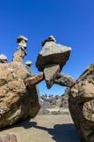 Pila della roccia Fotografia Stock