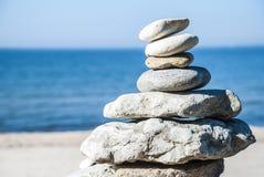 Pila della roccia Fotografie Stock Libere da Diritti