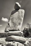 Pila della roccia Immagine Stock