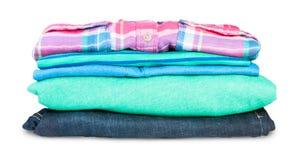 Pila di abbigliamento Immagine Stock Libera da Diritti