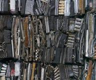 Pila di alluminio dalle parti dell'automobile Fotografie Stock