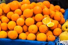 Pila di arance Fotografie Stock