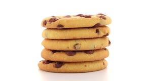 Pila di biscotti video d archivio