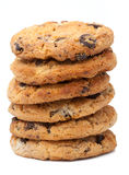Pila di biscotti Fotografie Stock