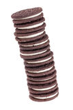 Pila di biscotti Immagine Stock