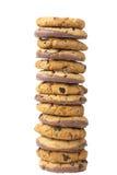 Pila di biscotti Fotografie Stock Libere da Diritti