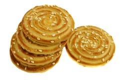 Pila di biscotti Immagini Stock