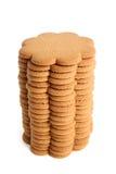 Pila di biscotti della cannella Immagini Stock Libere da Diritti