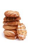 Pila di biscotto casalingo del chip Immagini Stock Libere da Diritti