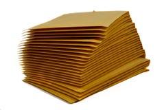Pila di busta postale fotografia stock libera da diritti