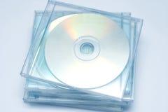 Pila di CD Fotografia Stock