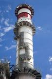 Pila di centrale elettrica fotografie stock libere da diritti