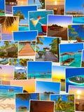 Pila di colpi della spiaggia delle Maldive (le mie foto) Fotografie Stock