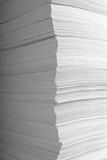 Pila di commercio dell'ufficio dei documenti di documenti Immagini Stock